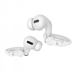 Ear Clip Ear Hooks Loop Anti-Lost Earphone Holder for AirPods1 / 2 / Pro (Clear)