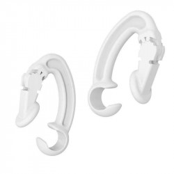 Ear Clip Ear Hooks Loop Anti-Lost Earphone Holder for AirPods1 / 2 / Pro (White)