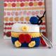 Airpod Pro Cute Design Cartoon Handcraft Wool Fabric Cover Skin (Donald Suit)