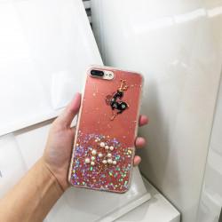 iPhone SE 2020 / 8 / 7 3D Deer Crystal Diamond Shiny Case (Pink)