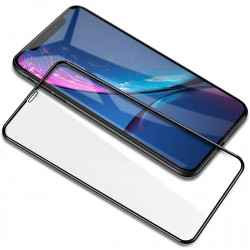 iPhone 11 (6.1in) / iPhone XR HD Tempered Glass Full Glue Screen Protector (Black Edge)