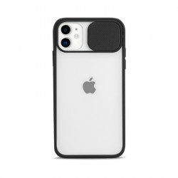 Slim Armor Lens Protection Hybrid Case for iPhone 11 6.1 (Black)