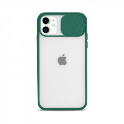 Slim Armor Lens Protection Hybrid Case for iPhone 11 6.1 (Green)