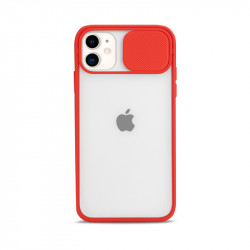Slim Armor Lens Protection Hybrid Case for iPhone 11 6.1 (Red)