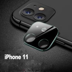 iPhone 11 (6.1in) Camera Lens HD Tempered Glass Protector (Midnight Green Edge)