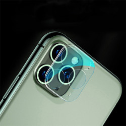 iPhone 11 Pro (5.8in) / iPhone 11 Pro Max (6.5) Camera Lens HD Tempered Glass Protector (Transparent Clear)