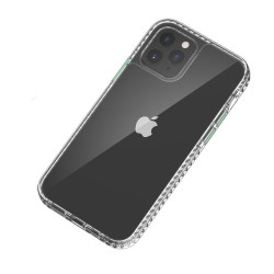 Transparent Shockproof Clear Back Shell Case for iPhone 12 Mini 5.4 (Smoke)