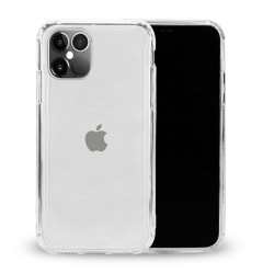 Clear Armor Hybrid Transparent Case for iPhone 12 / iPhone 12 Pro 6.1 (Clear)