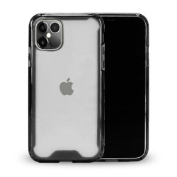 Clear Armor Hybrid Transparent Case for iPhone 12 / iPhone 12 Pro 6.1 (Smoke)