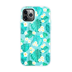 Dual Layer High Impact Protective Hybrid Hard Design Case for iPhone 12 Mini 5.4 (Green Forest)