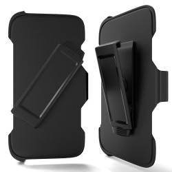 Heavy Duty Armor Robot Case Clip Only for iPhone SE [2020] (Black)