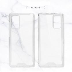 Samsung Galaxy Note 20 Clear Armor Hybrid Transparent Case (Clear)
