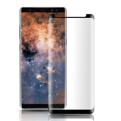 Galaxy Note 8 Curve Tempered Glass Full Screen Protector (Glass Black)