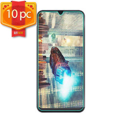 Samsung Galaxy A20, A30, A30S, A50 Tempered Glass Screen Protector 10pc Pack (Clear)
