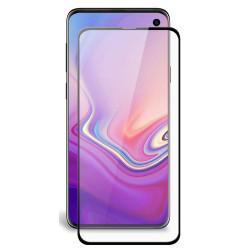 Galaxy S10e Tempered Glass Full Screen Protector - Case Friendly (Black)
