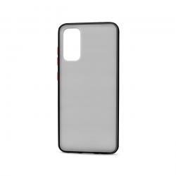 Samsung Galaxy S20+ Plus (6.7in) Slim Matte Hybrid Bumper Case (Smoke Black)