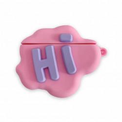 Airpod Pro Cute Design Cartoon Silicone Cover Skin for Airpod Pro Charging Case (Hi)