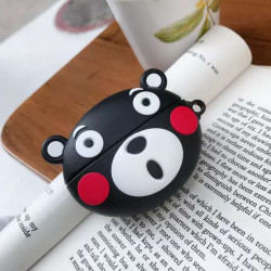 Cute Design Cartoon Silicone Cover Skin for Airpod (1 / 2) Charging Case (Surprise Bear)